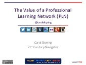 The Value of a Professional Learnin...