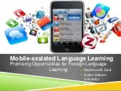 Mobile assisted language learning (...