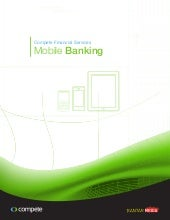 Compete Financial Services: Mobile ...