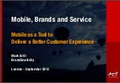 Mobile, brands and service