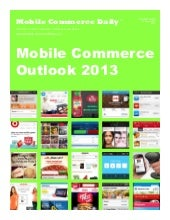 Mobile Commerce Outlook 2013