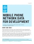 Mobile Data for Development Primer