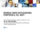 Mobile data offloading