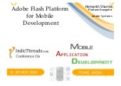 Adobe Flash Platform for Mobile Dev...