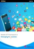 Mobile IOT Framework in Emerging Economies