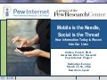 Mobile is the Needle, Social is the Thread: How Information Today is Woven Into Our Lives