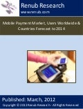 Mobile payment market, users worldwide & countries forecast to 2014