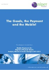 Mobile payments for digital and phy...