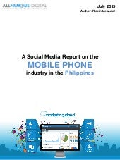 Mobile Phone Industry Report July 2013
