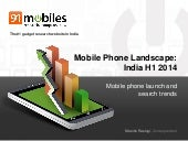 Mobile Phone Landscape - India H1 2014