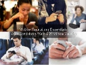 Mobile Recruiting Essentials:  What...