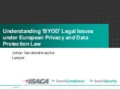 Understanding BYOD legal issues und...