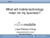 Mobile Technology - What does it me...