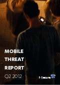 F-Secure Mobile Threat Report, Q2 2012