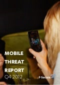 F-Secure Labs Mobile Threat Report Q4 2012