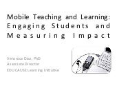 Mobile Teaching And Learning: Engag...