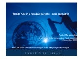 Mobile vas in emerging markets 11 2-11
