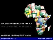 Mobile web in africa   v2 - andrew ...