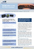 Mobileye C2-170 Brochure in French