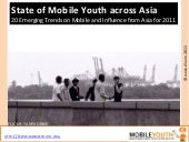 (mobileYouth) Asia: 20 Emerging Tre...