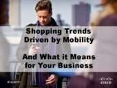 Shopping Trends Driven by Mobility
