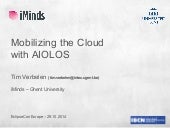 Mobilizing the Cloud with AIOLOS - T Verbelen