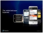 Mobiomic | The Mobile Landscape