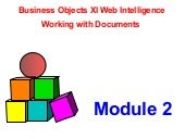 Mod  Xi 2 Working With Document Bus...