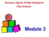 Mod Xi 3 Analyzing The Data Busines...