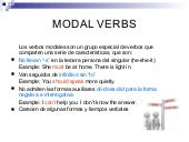 Something about modal verbs