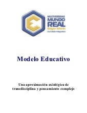 Modelo educativo edgar morin
