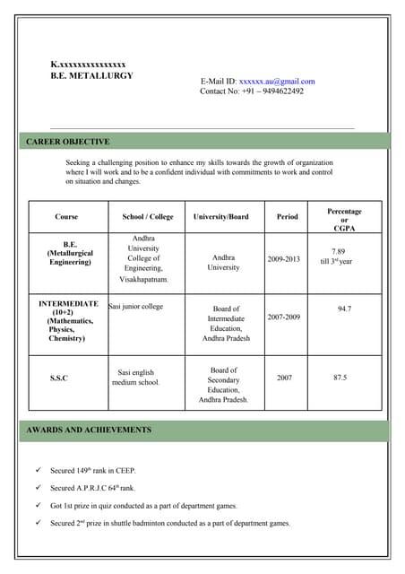 model resume model resume for bank jobs cv format for banking jobs ...
