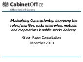 Modernising Commissioning green pap...