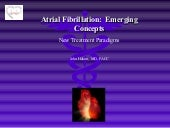 atrial fibrillation talk 2009