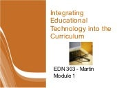 Module1 Integrating Technologyin Cu...