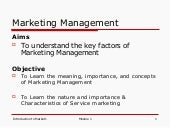 Module 1 Introduction To Marketing ...