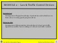 Crossing Guard Module 2 Law