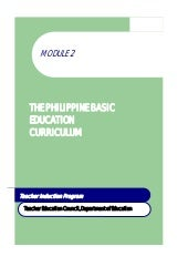 Module 2 the philippine bec