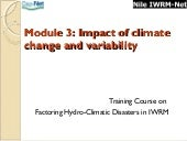 Impact of Climate Change and Variab...