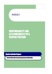 Module 3 responsibility and account...