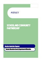 Module 5 school and community partn...