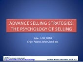 Module no.1 advance selling strateg...