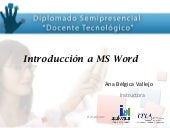 Modulo de ms  word