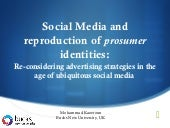 Social Media and Reproduction of Pr...