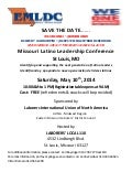 Missouri Latino Leadership Conference 10 May 14