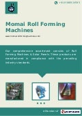Momai roll-forming-machines