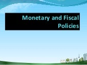 Monetary and fiscal policy ppt @ be...