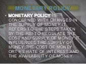 Monetry policy m ain...
