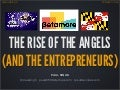 The Rise of the Angels (and the Entrepreneurs) - Baltimore - Feb 2013