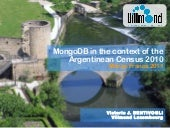 MongoDB in the context of the Argen...